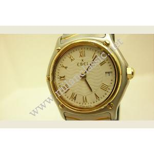 Ebel-CLASSIC Lady Watch 18k+SS 28mm (With box,card)