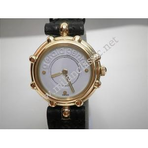 NEW - Gerald Genta-18k Solid Gold Lady 24mm