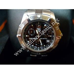 SOLD-Tag Heuer Professional Chronograph Quartz Black Dial 38mm (With Box+Card)