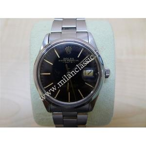 SOLD - Rolex 15000 Black Dial Gold Index Auto 34mm