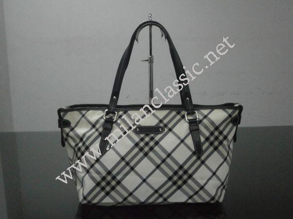 SOLD(已售出)Burberry Blue Label Canvas Shoulder Bag NEW YEAR SALE ... f46c9e6084464