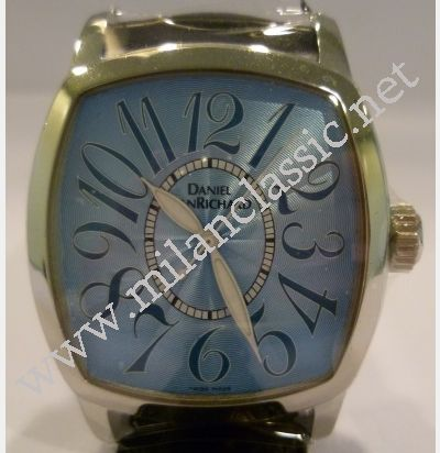 88c363c87e3 SOLD-NEW-Daniel Jean Richard TV Screen Blue Dial Unisex Auto S S ...