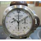 Panerai Luminor Chronograph Daylight White Di...