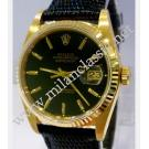 Rolex 16018 Black Index Dial Auto 18K Yellow ...