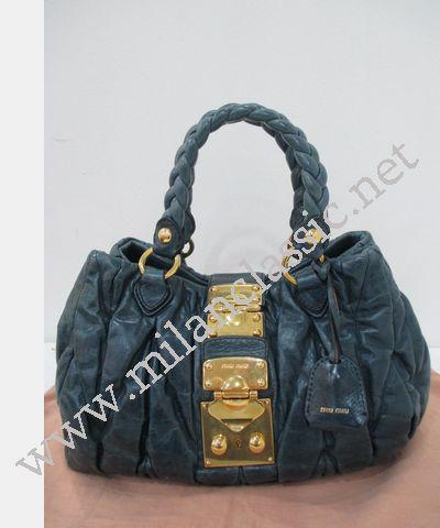 1aa8c210418 SOLD(已售出)Miu Miu Turquoise Blue Small Matelasse Lux Hand Sling ...
