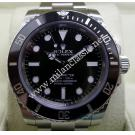 "Rolex 114060 Submariner Non Date Ceramic Bezel Auto S/S 40mm ""G-Series""(With Box)"