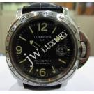 Panerai Luminor GMT Black Striped Dial S/S Auto 44mm PAM00029