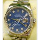 "Rolex 116234 Gents Blue Sodalite Dial with Diamonds 18K+SS Auto 36mm ""D Series"" (with Box)"