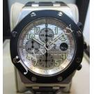 Audemars Piguet Royal Oak Offshore Chrono Silver Dial Auto S/S 42mm(With Box + Paper)