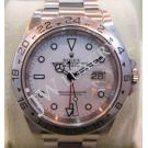 Rolex 16570 Explorer II White Dial Auto S/S 40mm (With Box)