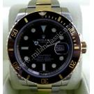 Rolex 116613LN Submariner Black Ceramic Bezel 18K+SS Auto 40mm (With Card + Box)