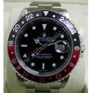 Rolex 16710 GMT Master II Black/Red Bezel S/S Auto 40mm (With Box)