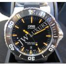 NEW (全新品)Oris Aquis Ceramic Bezel Black Dial Orange Index Auto 43mm(With Card + Box)