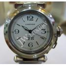 Cartier Pasha C White Dial Big Date Auto S/S 35mm