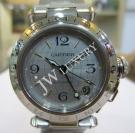Cartier Pasha C GMT White Dial Auto S/S 35mm