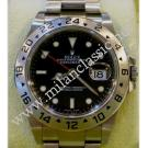 RESERVED WITH DEPOSIT - NEVER BEEN USED - Rolex-16570 Explorer II Black Dial Auto S/S 40mm (With Box + Card)