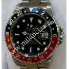 Rolex-16710 GMT Master II Black/Red Bezel Auto S/S 40mm (With Box + Paper)