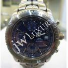 Tag Heuer Link Chrono Gents Blue Dial S/S Auto 42mm (With Box)