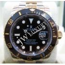 Rolex- 116613LN Submariner Black Ceramic Beze...