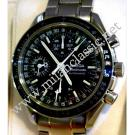 Omega Speedmaster Triple Date Black Dial Auto S/S 38mm (With Box)