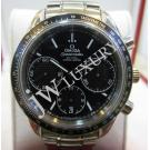 Omega Speedmaster Racing Co-Axial Chrono Black Dial Auto S/S 40mm(With Card + Box)