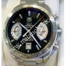 Tag Heuer Grand Carrera Calibre 17 Black Dial Auto S/S 43mm (With Box)