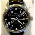 IWC Fliegeruhr Pilot Mark XVI Black Dial Steel/ Leather Strap Auto 39mm (with Card + Box)