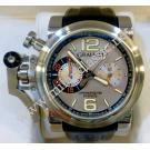 Graham Chronofighter Oversize Silver Ranger Auto Steel/Rubber 47mm (With Box + Paper)