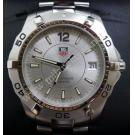 Tag Heuer Aquaracer Gents Silver Dial S/S Quartz 38mm (With Card + Box)