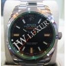 Rolex 116400GV Milgauss Green Sapphire Glass Auto S/S 40mm (With Card + Box)