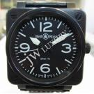 Bell & Ross BR01-92 Black PVD Auto S/S 46mm (With Box + Card)