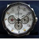 LIMITED - Corum- Admiral's Cup Challenge 44 Split Second Chrono S/S Auto 44mm (With Card + Box)