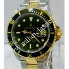 Rolex 16613 Submariner Black Dial Auto 18K/SS 40mm (With Box)