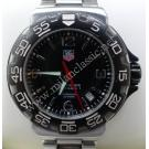 Tag Heuer F1 Black Dial S/S Quatrz 41mm (With Card + Box)