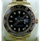 Rolex 116718LN GMT Master II Ceramic Bezel 18K Y/Gold Auto 40mm (Paper + Box)