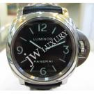 "Panerai Luminor Base Black Dial Hand Wind S/S 44mm ""PAM00112"""