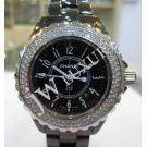 Chanel J12 Black Ceramic Diamond Bezel Black Dial 33mm(With Card + Box)
