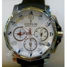 SOLD-Corum Admiral's Cup Challenge Chrono 44 Auto Steel/Rubber Strap 44mm (with Card + Box)