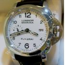 "Panerai Luminnor Marina 1950 3 Days White Dial Auto Steel/Leather 44mm ""PAM00499"" (With Box)"