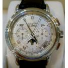 Zenith El Primero Chronomaster Calendar Auto Silver Dial Steel/Leather 40mm (With Box)