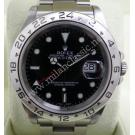 RESERVED-Rolex 16570 Explorer II Black Dial S/S Auto 40mm (With Box)