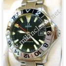 RESERVED WITH DEPOSIT - Omega-Seamaster GMT Black Dial Auto S/S 41mm (With Box)