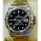 "RESERVED WITH DEPOSIT - Rolex-16570 Explorer II Black Dial Auto S/S 40mm ""D-Series"" (With Box + Paper)"