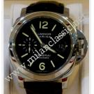 "Panerai Luminor Marina Black Dial Auto Steel/Leather 44mm ""PAM104"" (With Box + Card)"