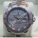 "Rolex 16622 Gents Yacht Master Auto Platinum Bezel S/S 40mm ""P-Series"" (With Box)"