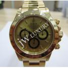 Rolex 16528 Daytona Gold Dial 750 Yellow Gold Auto 40mm (With Box)
