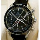 "LIMITED - Omega-Speedmaster Chrono Auto ""A.C.Milan"" Black Dial Steel/Leather 38mm (With Box)"