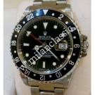"Rolex 16700 GMT Master Black Color Bezel Auto S/S 40mm ""T-Series"" (With Box)"