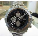 Breitling Super Avenger Chrono Black Dial Auto S/S 48mm (With Box)