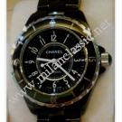 Chanel J12 Black Ceramic Automatic 38mm (With Box)